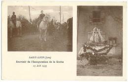 SAINT LOUP Inauguration De La Grotte5 Avril 1935 Animation  Jura  CPA - Ohne Zuordnung