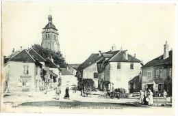 ARBOIS Quartier De Faraman Très Animé Jura  CPA - Arbois