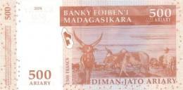 MADAGASCAR P. 88b 500 A 2004 UNC - Madagascar