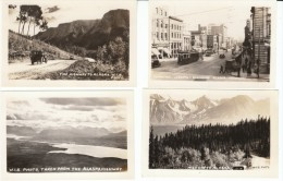 Alaska Highway, Edmonton Canada Street Scene,  Lot Of 10 Photographs/Snapshots - Places