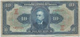 Brazil - 1925 - 10 Mil Reis - P39  - VF - Brazil