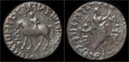 Indo-Parthian Kingdom Abdagases Billon Tetradrachm - Greche