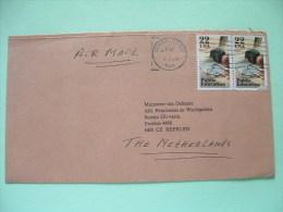 USA 1986 Cover To Holland - War Ministry Adress - Public Education - Schools - Etats-Unis
