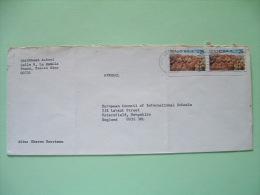 USA 1990 Cover Ponce, Puerto Rico To England - UPAEP Landscape Mountains - Etats-Unis