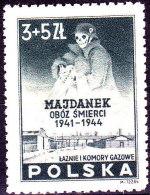 POLAND 1946 Majdanek Fi 403 Mint Never Hinged - 1944-.... République
