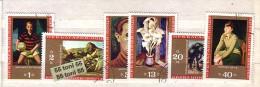 BULGARIA /Bulgarie 1971 National Art Gallery 6v – Used/oblit.(O) - Gebraucht