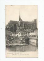 Cp , 80 , AMIENS , La Cathédrale , Côté Nord , Voyagée 1920 - Amiens