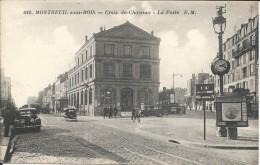 MONTREUIL- SOUS- BOIS- CROIX-  DE - CHAVAUX - LA POSTE - Montreuil