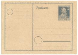 Deutschland Alliierte Besetzung 1947 Gemeinschaftsausgaben Postkarte Ganzsache P965 P 965 NEU Ungebraucht H. V. Stephan - Gemeinschaftsausgaben
