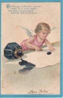 ANGE  À  L'ENCRIER - Angels