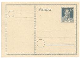 Deutschland Alliierte Besetzung 1947 Postkarte Ganzsache P965 P 965 NEU Ungebraucht Heinrich Von Stephan - Gemeinschaftsausgaben