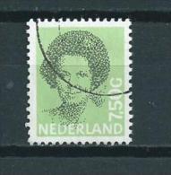 1990 Netherlands Queen Beatrix 7,50 Gulden Used/gebruikt/oblitere - Periode 1980-... (Beatrix)