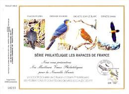 """2337 (Yvert) Sur Feuillet """"Voeux"""" Du Catalogue CEF - Meilleurs Voeux Philatéliques Pour La Nouvelle Année  - - 1980-1989"""