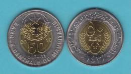 MAURITANIA   50  OUGUIYA  2.010   BIMETALICA   SC/UNC     DL-9812 - Mauritania