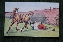 Chasse à Courre  - Chute De Cheval - Caccia