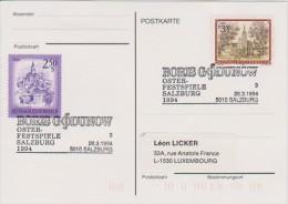 MB 2359) SSt Salzburg 1994: Boris Godunow (Oper Von Modest Mussorgski) - Music