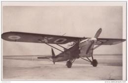 AVIATION PILOTE ET AVION ISTRES  AVIATION MUREAUX 117 R2 CPA BON ETAT - 1919-1938: Entre Guerres