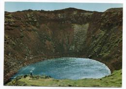 Islande--KERIO I GRIMSNESI, (lac De Cratère De Volcan) ,cpm N°238 éd EDDA FOTO