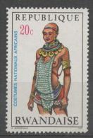Rwanda 1970 - Costumi Nazionali Africani African National Costumes MNH ** - Rwanda