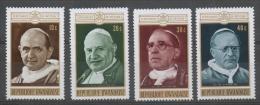 Rwanda 1970 - Papi Popes MNH ** - Rwanda
