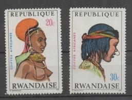 Rwanda 1971 - Copricapi Africani African Headdresses MNH ** - Rwanda