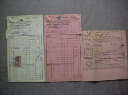 GRANDES BRASSERIES REUNIES COULON,CARQUILLAT & FOURNIER MARLE AISNE FACTURE ET DOCUMENTS 1937 - Factures