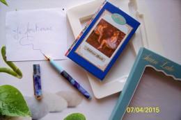 1 CARNET D'ADRESSE BOOK REPERTOIRE CARTONNE + STYLO BILLE LUXUEUSE PRESENTATION JEUNESSE FERMETURE LIBRAIRIE PAPETERIE - Livres, BD, Revues