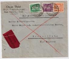 DR ,1928,  Brief -Eilboten-Land,portogerecht ! RRR ! , #2660 - Deutschland