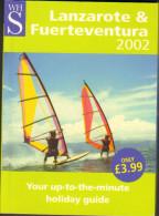 Lanzarote Fuerteventura Neuwertig 127  Seiten 2002 - Reiseführer