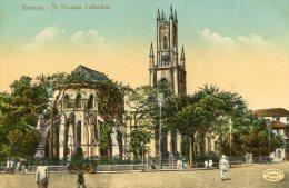 INDIA -  BOMBAY St Thomas Cathedral - India