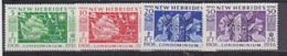 New Hebrides 1956 Condominium 4v ** Mnh (22968A) - Engelse Legende