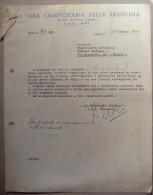 Fattura VII Fiera Campionaria Della Sardegna - CAGLIARI 1955 (alla Ditta Fratelli Lorioli - Medaglie) - Italia