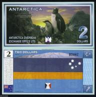 ANTARTIQUE / ANTARCTICA - 2 DOLLARS ANNEE 1999 - UNC / SERIE L 4363 - Groenlandia