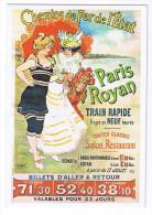ROYAN PARIS  CHEMINS DE FER DE L ETAT - Royan