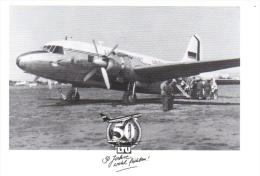 Vickers Viking  -  50 Ans LTU  -  CPM - 1946-....: Moderne
