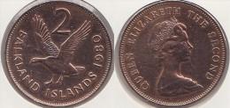 Falkland 2 Pence 1980 Km#3 - Used - Falkland Islands