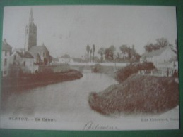 BLATON Le Canal ( BERNISSART ) ---------------------------------------------------------------------- Reproduction ADEPS - Bernissart