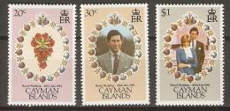 CAIMAN  Islands.      Prince Charles  /  Lady Diana    -  Neufs ** - Cayman (Isole)