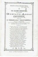 Doodsprentje COURTENS Gustave - Kortrijk  °1858 En +1870 - Images Religieuses