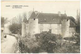 DOMBLANS Chateau N° 18597  Jura  CPA - Frankrijk