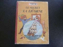 LE SECRET DE LA LICORNE  B6 1952 - Hergé
