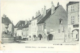 ARBOIS Les ARCADES Peu Courante N° 380  Jura Cpa - Frankrijk