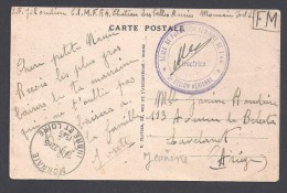 Indre Et Loire - Ecole De Formation Féminine De L' Air * 3e Région Aérienne * - Monnaie 1945 - Marcophilie (Lettres)