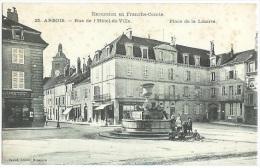 ARBOIS Rue Hôtel De Ville Place Liberté N°25 Jura Cpa - Frankrijk