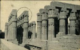 N°544 KKK 46 LUXOR LOUXOR PAPYRUS PILLARS OF AMENHOTEP III - Luxor