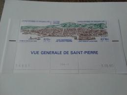 Saint Pierre Et Miquelon 1990 Yvert Et Tellier 530A Neuf** - Neufs