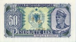 ALBANIE - ALB-50LEK-1957 / P29 - NEUF / UNC - COTE IPCbanknotes: 5,50€ - - Albanien