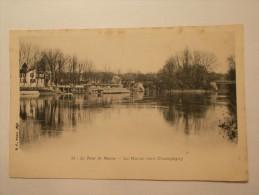 Carte Postale - LE TOUR DE MARNE (94) - La Marne Vers Champigny (47/60) - Non Classificati