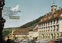 015J/ Triberg Im Schwarzwald 1962, Marktplatz, Autos, Voitures, Opel, Volkswagen, Fiat - Triberg