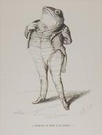 """Grandville. """"Scènes De La Vie Privée Et Publique Des Animaux"""". 1842. - Estampes & Gravures"""